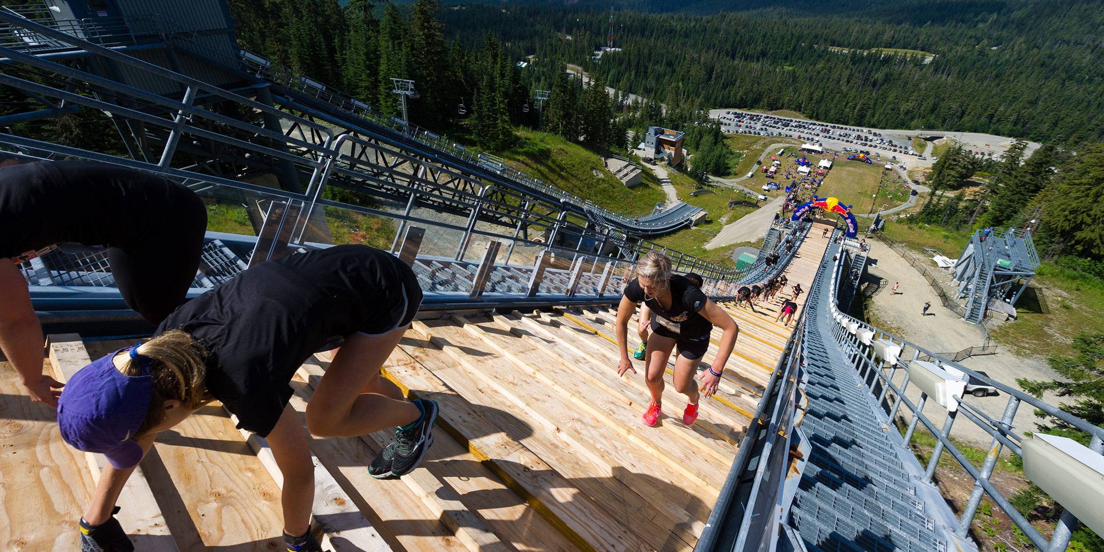 Red Bull 400 at Whistler Olympic Park 2015