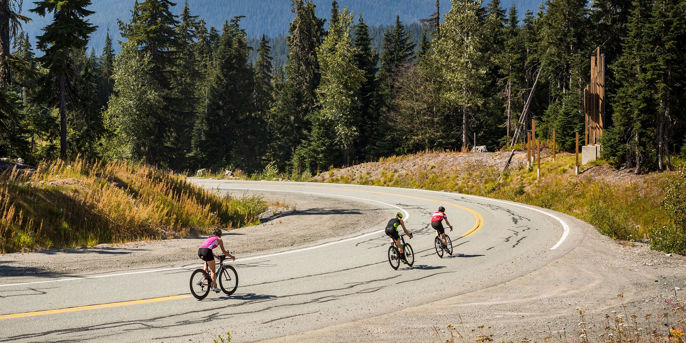 Road Biking Whistler