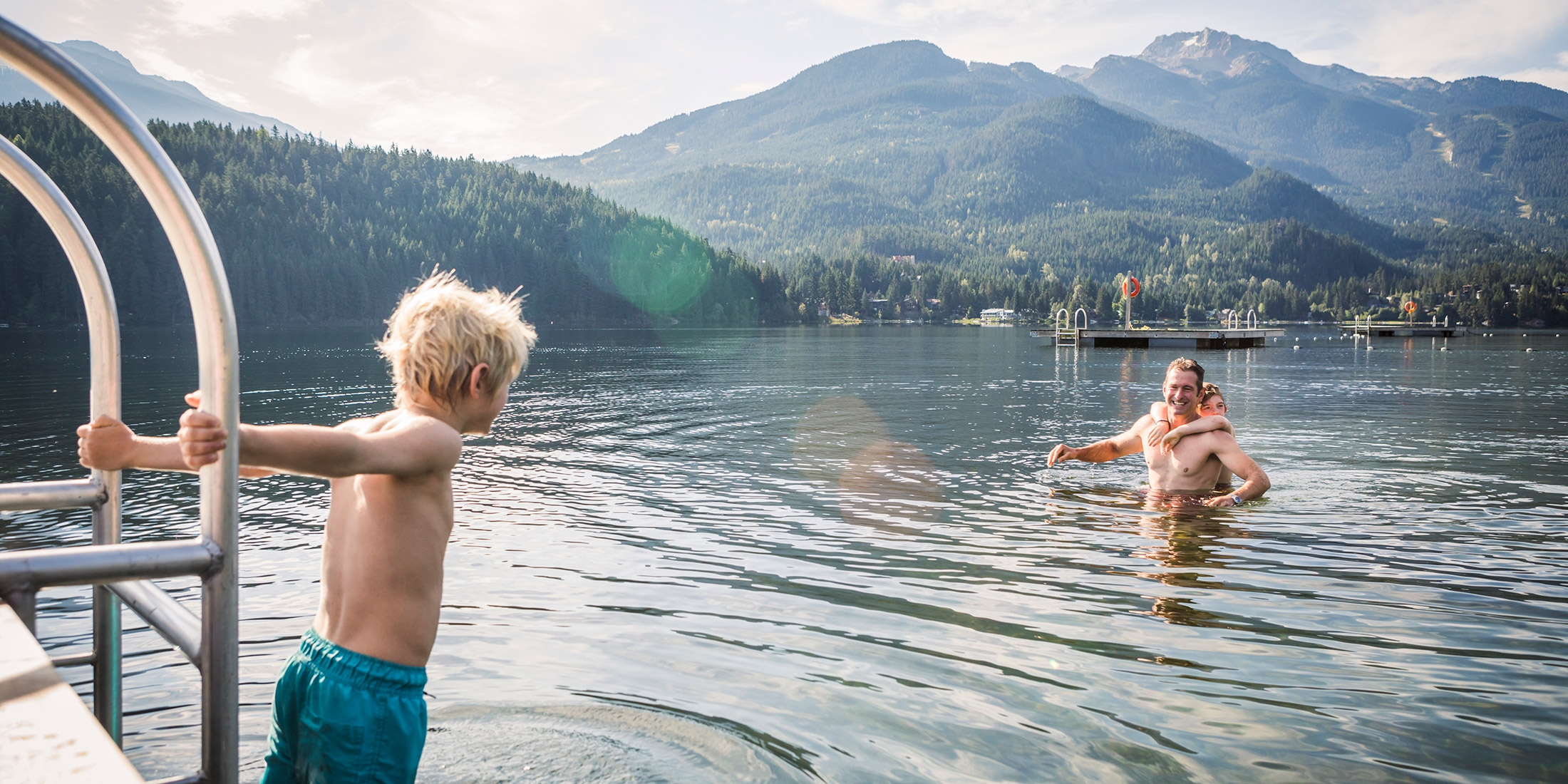 Lakes Beaches and Parks in Whistler