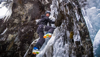 Ice Climbing in Whistler