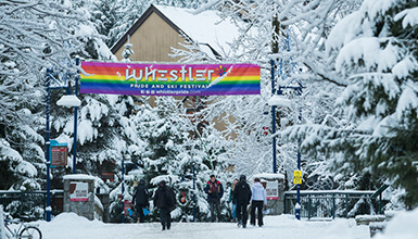 Whistler is proud to host the annual Whistler Pride and Ski Festival