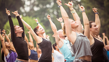 Wanderlust yoga festival is a meeting of the minds in Whistler, BC