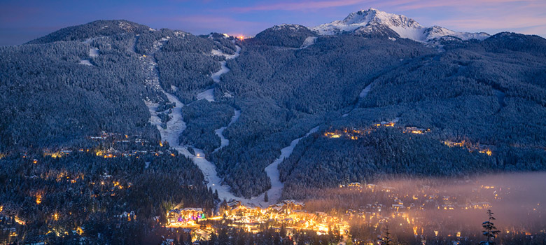 Whistler Valley in BC, Canada
