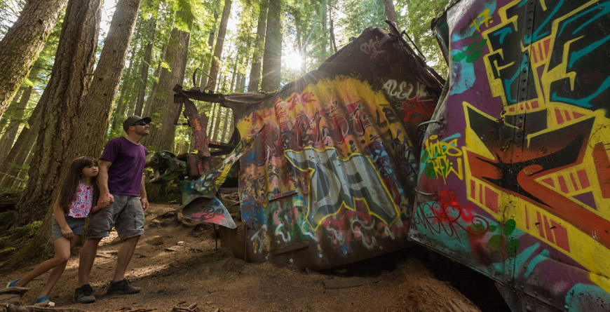 Whistler's Train Wreck Hike
