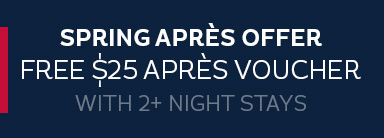 Free $25 apres voucher with 