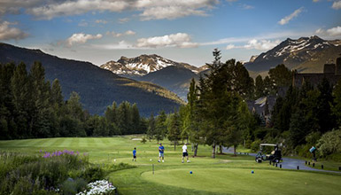 Check out Whistler's world-class golf courses for yourself