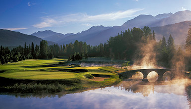 Check out Matt Ginella's visit to Whistler's world-class golf courses