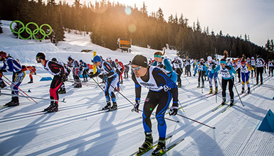 Whistler Nordic events