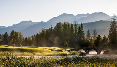 Whistler Golf Course in Spring