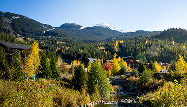 Whistler Creekside in the Fall
