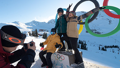Iconic sightseeing moments in Whistler