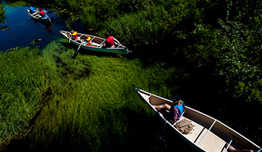 River of Golden Dreams Canoe Deal