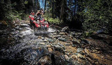 Mountain Explorer ATV Tour + Peak 2 Peak Combo