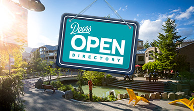 View Whistler's Doors Open Directory