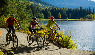 Fall Biking in Whistler