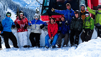 Group Catskiing in Whistler