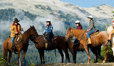 Whistler - Horseback Riding Tours