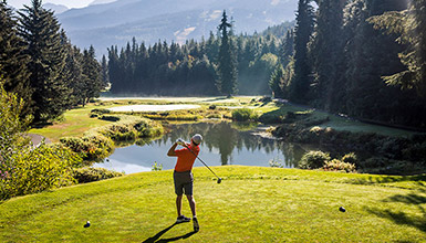 Tee Time in Whistler