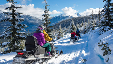 Itineraries for Whistler