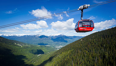 PEAK 2 PEAK Gondola at Whistler Blackcomb
