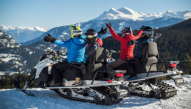 Save up to 25% on top Whistler Winter Activities