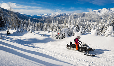 Snowmobiling Spring Discounts