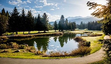 Spring Golf in Whistler