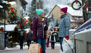 Places to Shop Whistler