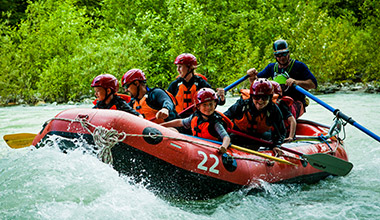 Whistler - Wedge Rafting
