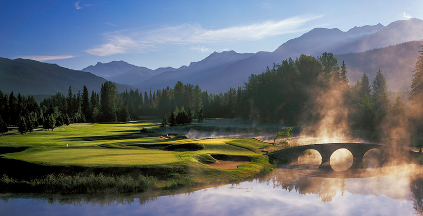 Nicklaus North Golf Course in Whistler BC