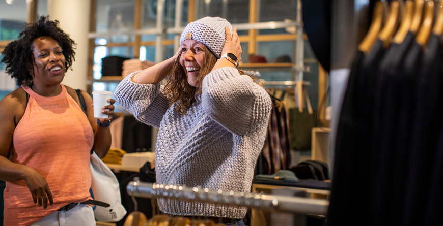 See what's hot in Whistler's shops for spring and summer