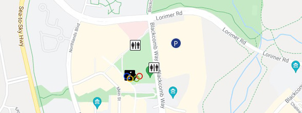 Whistler Village Maps