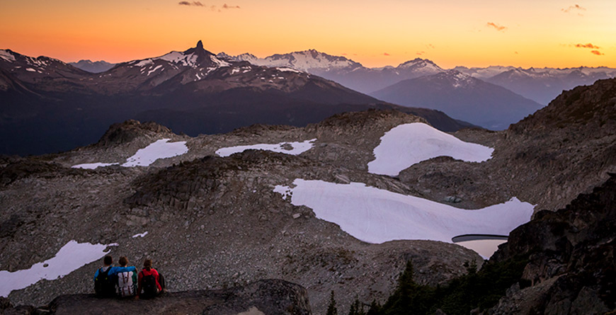 Best Places to Watch the Sunset in Whistler
