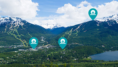 Webcams in Whistler