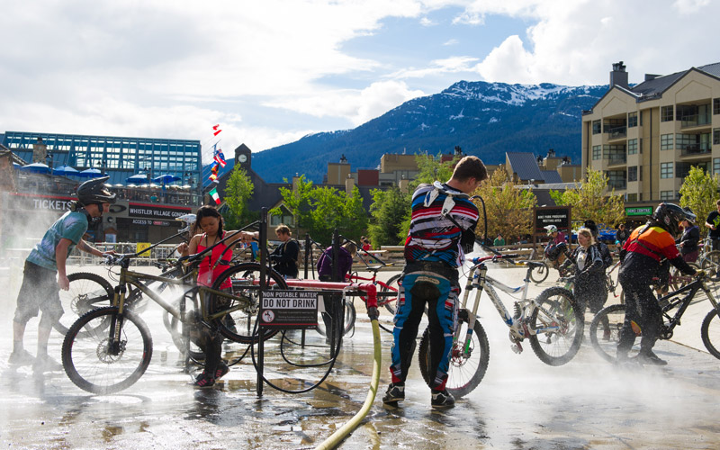 Bike Wash Whistler Village