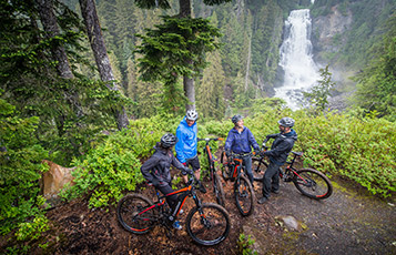 E-Biking in the Callaghan Valley