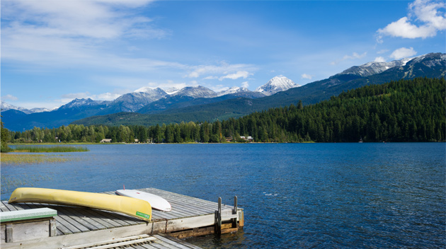 Lakes in Whistler