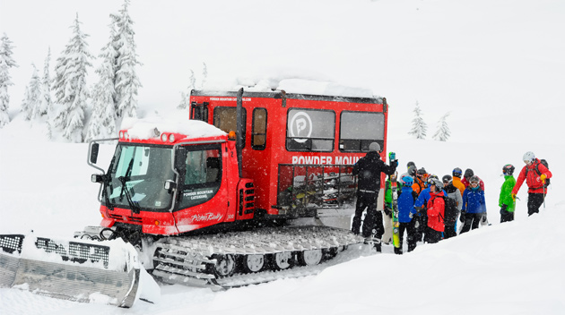 Cat Skiing in Whistler