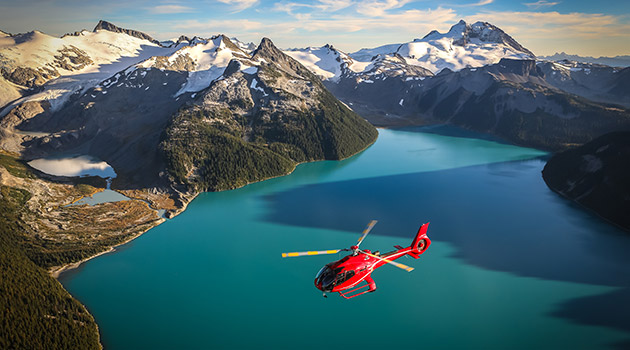 Helicopter Tours in Whistler