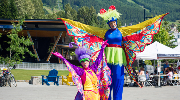 Whistler Children's Festival performers