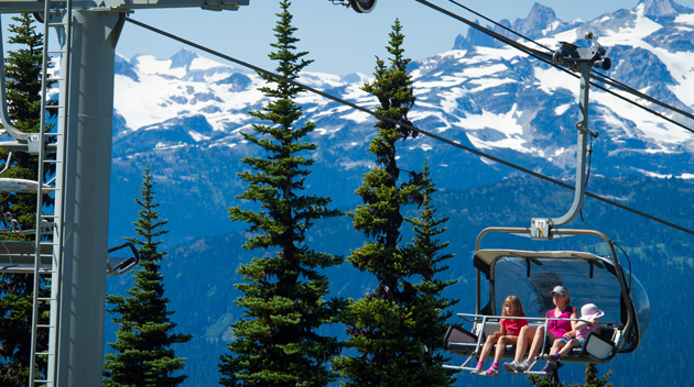 Whistler Summer Family Fun