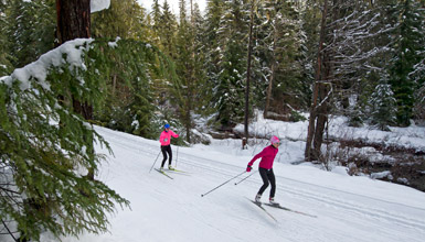 XC Skiing in Callaghan Country