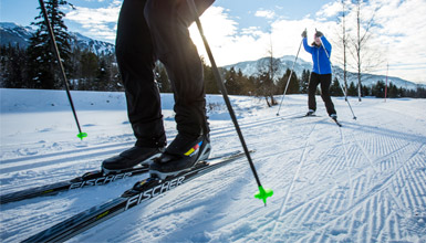 Nordic Skiing Lessons at Lost Lake Park