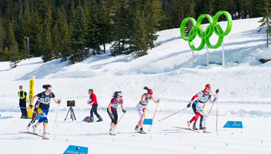 Biathlon at Whistler Olympic Park