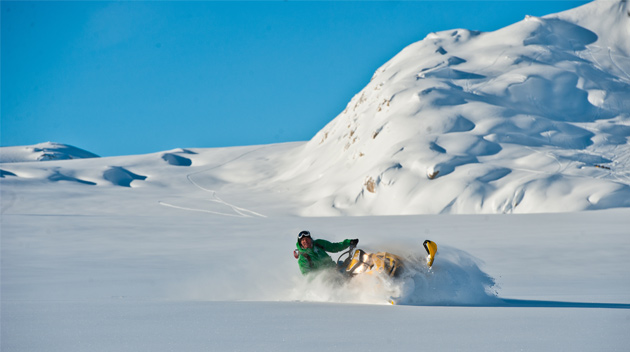 Whistler Powder Snowmobiling