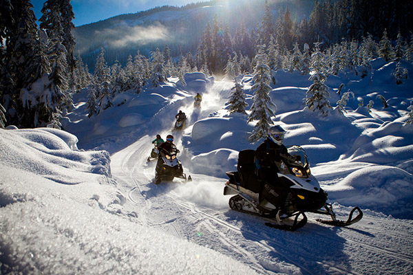 Whistler Snowmobile Tours