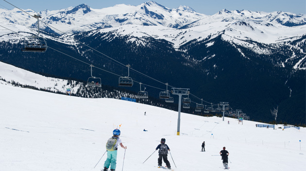 Summer Glacier Skiing in Whistler