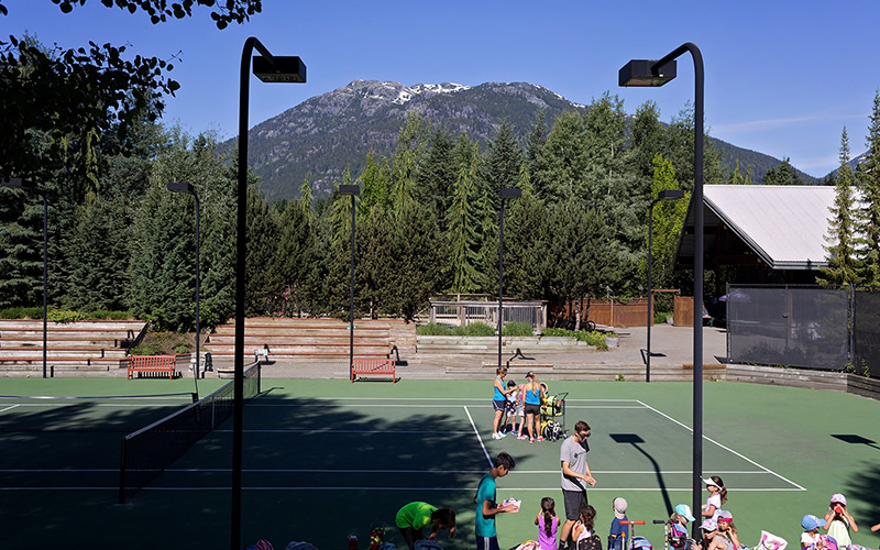 Tennis in Whistler