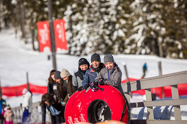Whistler Blackcomb Coca-Cola Tube Park Photos