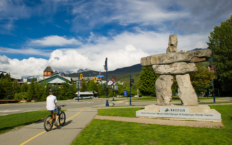 Whistler Valley Trail Village Entrance